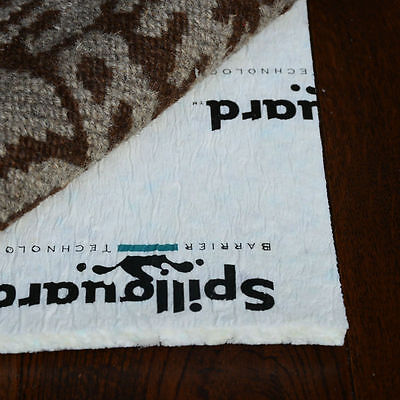 """SPILLGUARD® Rug Pad 3/8"""" Thick Memory Foam Blend- Various Sizes & Shapes"""