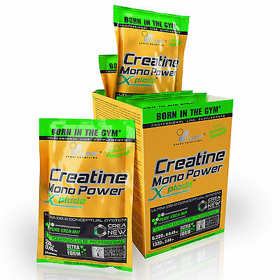 Creatine Mono Power 220g Xplode Muscle Development Bodybuilding Monohydrate
