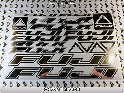FUJI Stickers Decals Bicycles Bikes Cycles Frames Forks Mountain MTB BMX 59DP