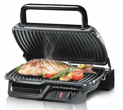 91ee372b55 Tefal Gc305012 Ultra Compact Health Electric Grill Classic 2000W Barbecue  New