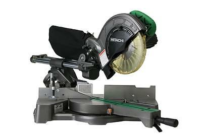 "Hitachi C8FSE 8-1/2"" Sliding Compound Miter Saw with Twin Rail"