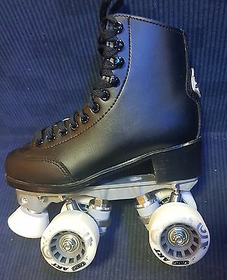 Crazy Celebrity Art Black Roller Skates ******  $69 Special *********