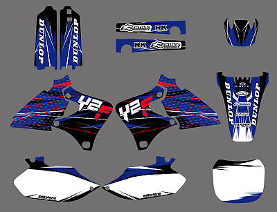 Decals Graphics Backgrounds For Yamaha Yz250F Yz400F Yz426F 98 99 00 01 2002 B