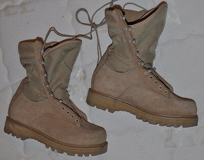 Canadian Army Desert Combat Boots Hot Weather Size 250/106 Men's 8 Wide NEW!!!