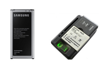 New 2800mAh Battery + Wall Charger for Samsung Galaxy S5 i9600 SM-900 G900 i9600