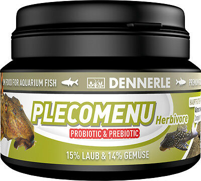 Dennerle Premium Fish Food: Pleco Menu 100ml for Pleco, Catfish
