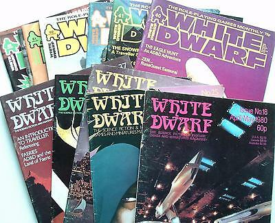 Various White Dwarf Magazines - Early Issues from the 1980's - Muli-Listing