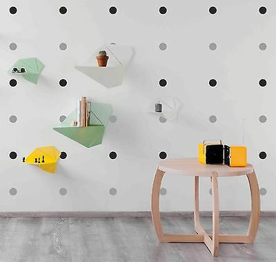 120 Polka Dot wall sticker decals - Mixed colour choices available - DIY - S12