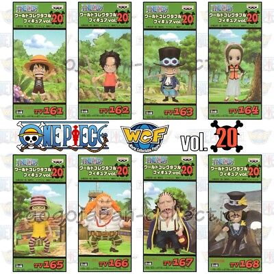 ONE PIECE WCF World Collectable Figure vol.20 Complete set