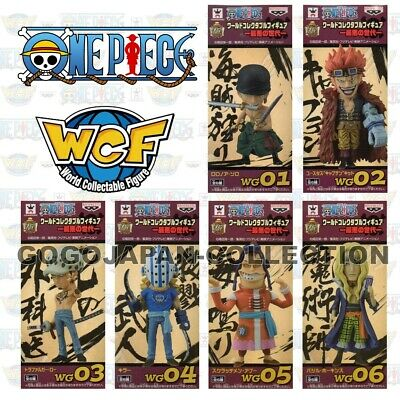 ONE PIECE WCF World Collectable Figure Worst Generation Complete set