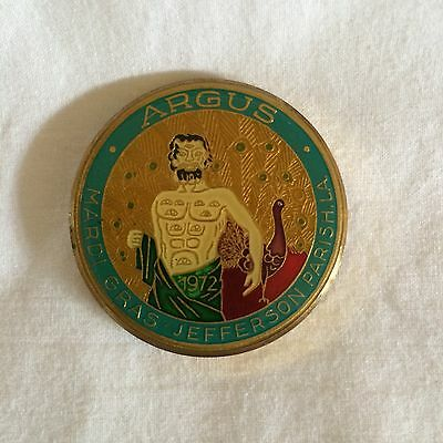 "Argus Cloisonne Doubloon 1981 Full Size 1.5""d Excellent Condition !"