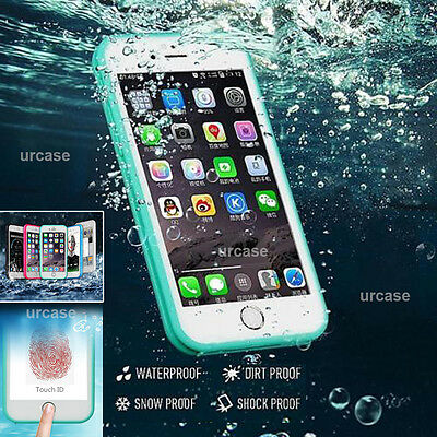 Waterproof Shockproof Hybrid Rubber TPU Phone Case Cover Fr iPhone 8 7 6 6S Plus