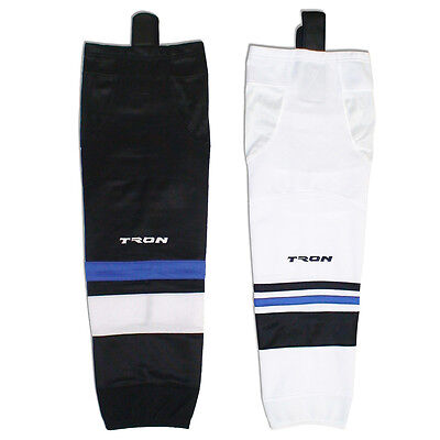 "Tampa Bay Lightning Colors Hockey Socks DRY FIT Edge Inspired  24"" or 30"" SK300"