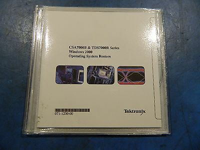 Tektronix TDS7000B Series Operating System Restore 063-3630-00