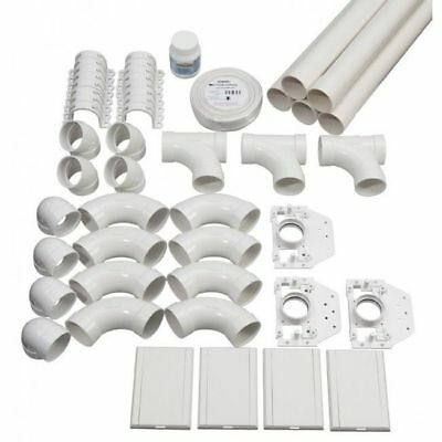 Ducted Vacuum System Diy Instalation Rough-In 4 Point Kit