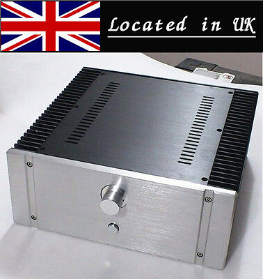 Aluminum Chassis Case Enclosure DIY Cabinet for Class A Power Amplifier Board_UK