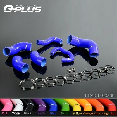 UK Silicone Turbo Intercooler Pipe Hose For MITSUBISHI LANCER EVO 7 8 9 CT9A 4G6