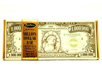 Million Dollar Chocolate Bar - Delicious and Tasty Creamy Milk Flavour from USA