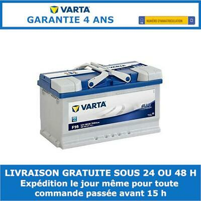 Batterie voiture Varta Blue Dynamic F17 12v 80ah 740A 315x175x175mm 580406074