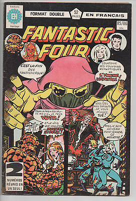 FANTASTIC FOUR #85/86 French Comic Français EDITIONS HERITAGE
