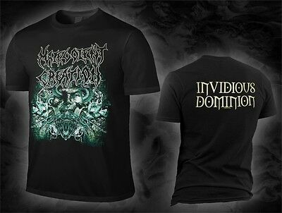 Malevolent Creation - invidious dominion (T-Shirt), Größe size M, L, XL, NEW