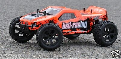 BSD-RACING PRIME ONSLAUGHT V2 TRUCK 4WD Remote Control Car