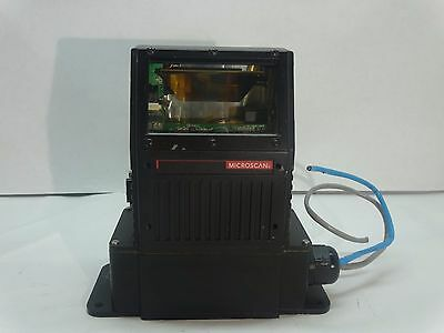 Microscan Ms-880 Fixed Mount Barcode Scanner, Fis-0880-0002 Class 2 - Used