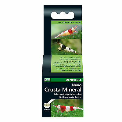 Dennerle Nano Crusta Mineral Essential Minerals for Cherry Crystal Tiger Shrimp
