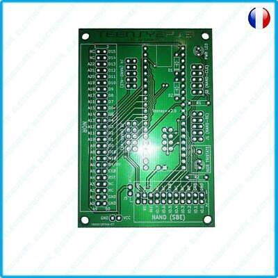 TEENSY2PS3 : Adapter Adaptateur PCB pour Teensy 2.0 ++ 360 NAND Nor Clip QSB