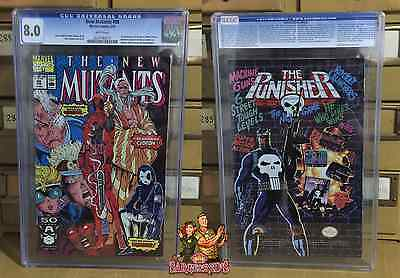The New Mutants 98 CGC Graded 8.0 1st Deadpool  ✰Sarge &  Red's✰ 0220780010