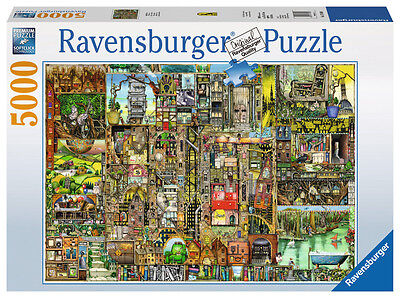 Colin Thompson Bizarre Town 5000 Piece Jigsaw Puzzle Ravensburger