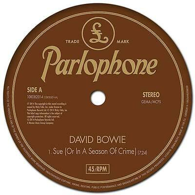 """David Bowie - Sue (or In A Season Of Crime) NEW 10"""""""