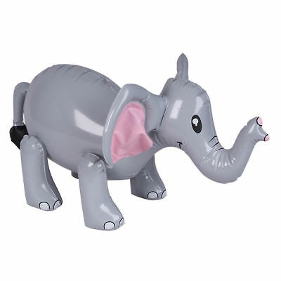 Inflatable Blow Up Toy Elephant Pool Party Novelty Decoration 33Cm New