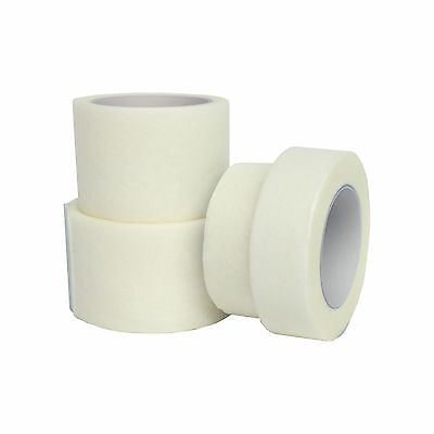 Qualicare Hypo-Allergenic Professional Soft Fabric Medical Micropore White Tape