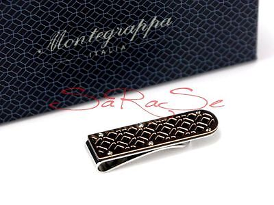 Montegrappa Filigree Money-Clip Geld-Klammer Dollar-Clip Edelstahl Rose-Gold