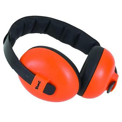 "Baby Banz Ear Defenders / Ear Muffs Age 3 months + "" Orange"""