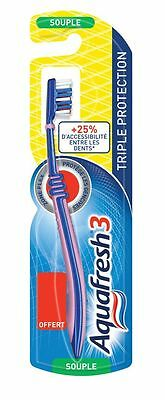 Aquafresh Brosse A Dents Triple Protection Souple