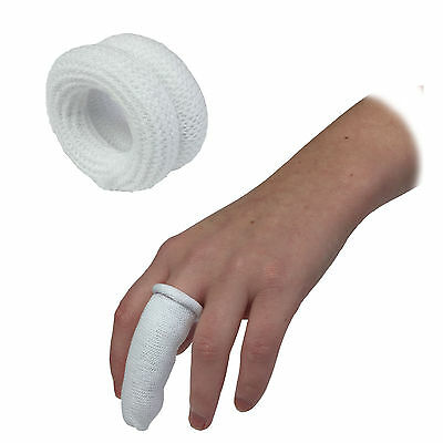 Qualicare First Aid Finger Roll Bobs Cot Buddies Tubular Bandage Dressings White