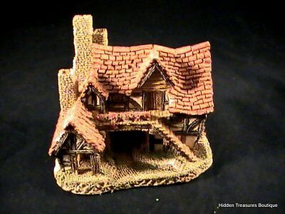 """Vintage 1983 Handpainted """"The Bothy House"""" by David Winter Great Britain"""