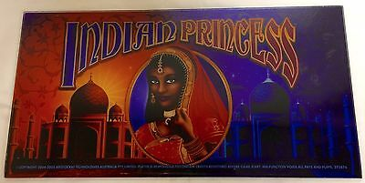"ARISTOCRAT Belly Plexiglass "" INDIAN PRINCESS """