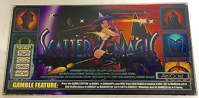 "ARISTOCRAT Belly Plexiglass "" SCATTER MAGIC """