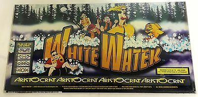 "ARISTOCRAT Belly Plexiglass "" WHITE WATER """