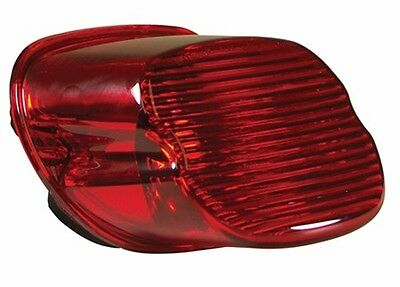 Lay Down Taillight Tail Light  Lens For Harley Softail Sportster Flt Dyna