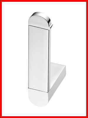 Bisk Futura Silver 02989 Recovery Toilet Roll Holder, Chrome - Bathroom