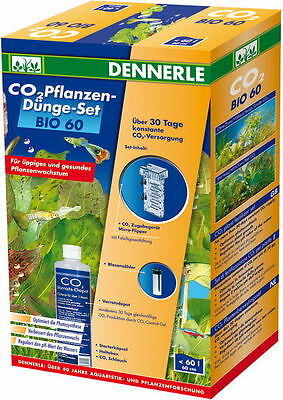 Dennerle Bio-60 CO2 Starter Set Aquarium Plant CO2 Fertilizer Kit