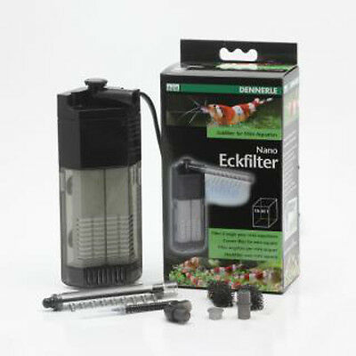 Dennerle Nano Corner Filter 10-40L Small Fish and Shrimp
