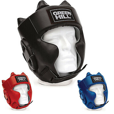 Casco Da Boxe Sparring Parazigomi Pugilato Green Hill Boxing Caschetto Cheekbone