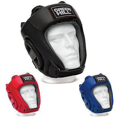 Casco Da Boxe Training Pugilato Green Hill  Boxing Head Guard Caschetto Aperto
