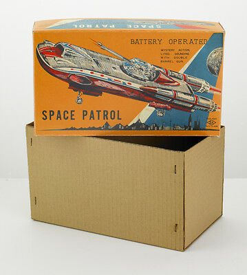 ACCURATE REPLICA BOX for HORIKAWA SPACE PATROL TRIKE (NO ROBOT OR SPACE TOY INC)