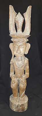 Oceanic Indonesian Tribal Art Large Nias Islands Figure